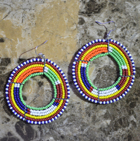Green-C Massai Earrings