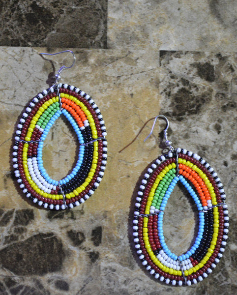 Blue-O Massai Earrings