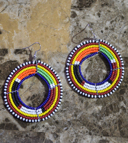 DBlue-C Massai Earrings