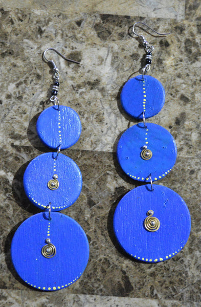Blue-C Earrings