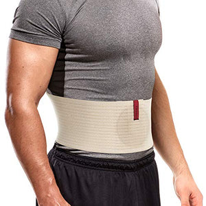 Premium Umbilical Hernia Belt for Men and Women - Abdominal Support Binder - Beige
