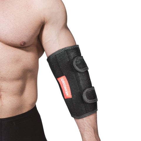 Image of Elbow Support Brace Immobilizer Splint for Man and Women Tennis and Gorfers Elbow, Tendonitis, Bursitis