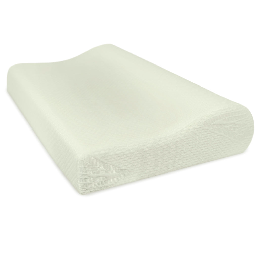 Orthopedic Contoured Memory Foam Pillow, Cervical Pillow (23.5 x 15.5 x 4/3)