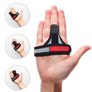 Trigger Finger Splint - Finger Support Brace - Straightening Immobilizer Treatment for Sprains, Pain Relief, Mallet Injury, Arthritis, Tendonitis / ACHB5301