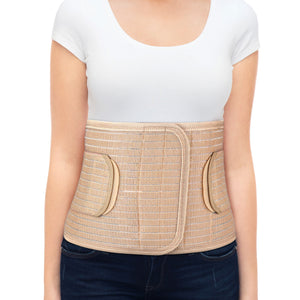 "9"" Ergonomic Abdominal Binder with Extra Band"