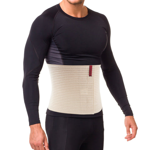 "10.25"" Abdominal Binder for Men and Women - Beige"