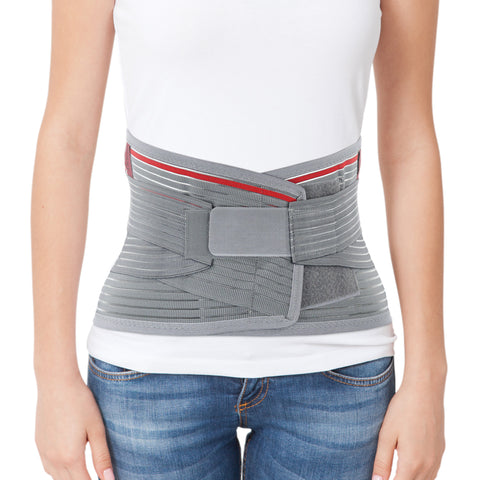 Image of Lumbar Support Belt Lumbosacral Back Brace