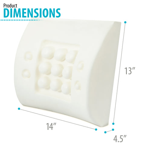 Image of Lubar Support Pillow Memory Foam (14 x 13 x 4.5)