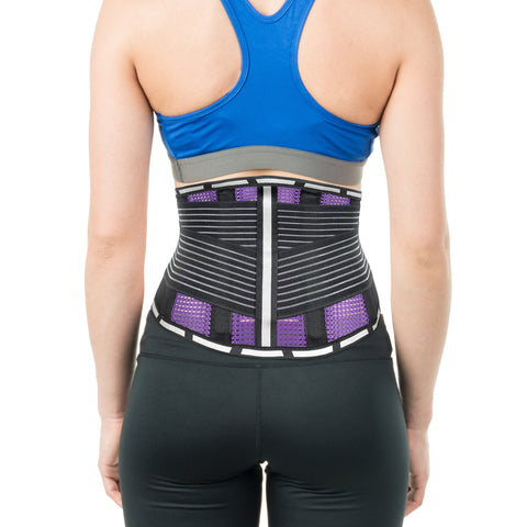 Image of Workout Back Support Belt Lower Back and Lumbar Support Brace