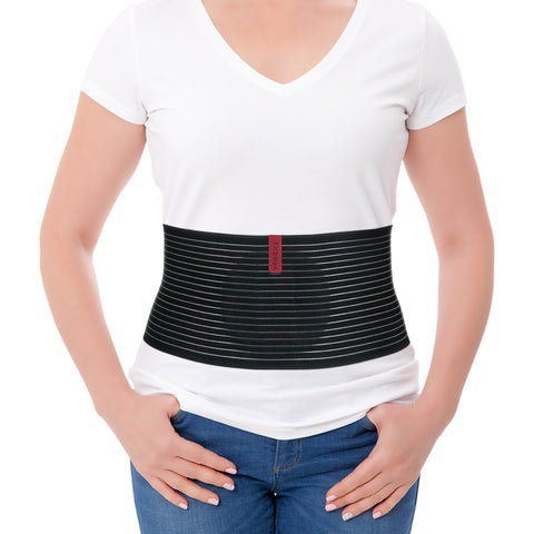 Image of Umbilical Hernia Belt for Men and Women - Abdominal Support Binder