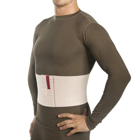 "Image of 6.25"" Abdominal Binder for Men and Women - Beige"