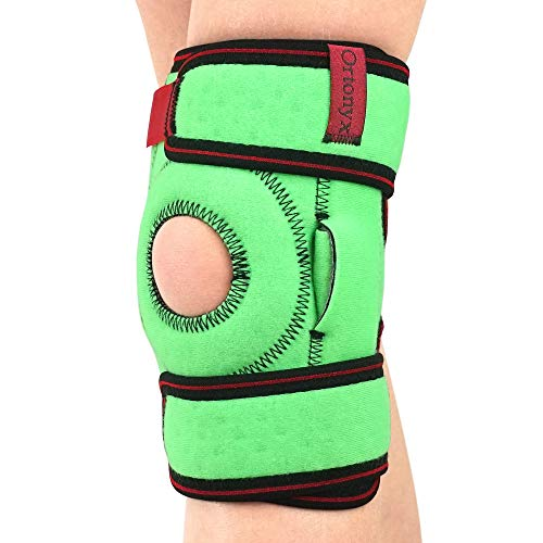 Kids Knee Brace with Patella Ring and Removable Side Spring Stays/ ACJB2110