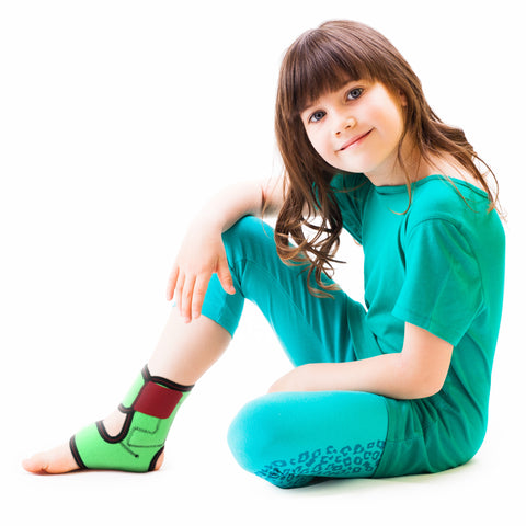 Image of Kids Ankle Support Brace with Side Pads / ACJB2002