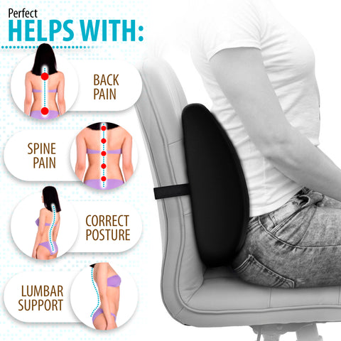 Image of Lubar Support Pillow (14 x 13 x 4.5)