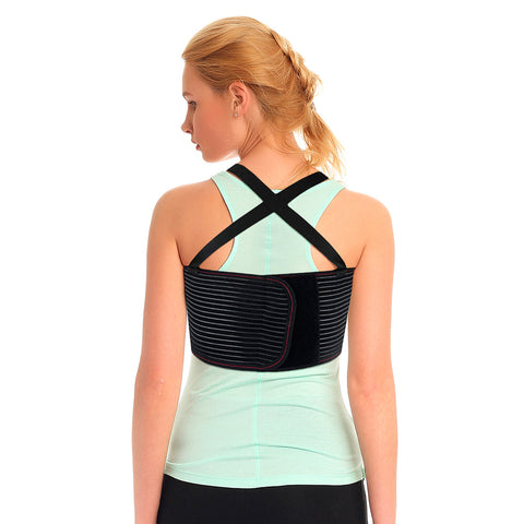 Image of Rib and Chest Support Brace with front Stay