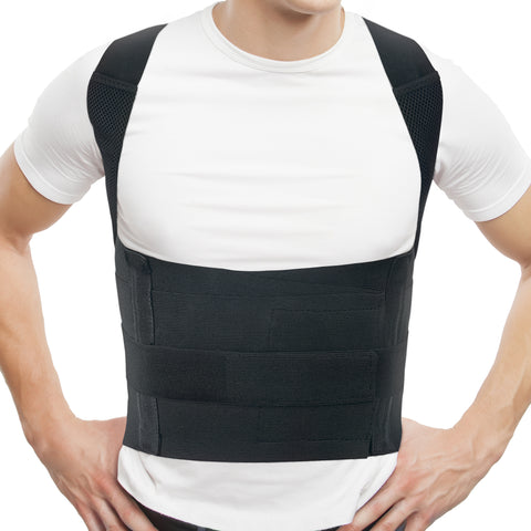 Comfort Posture Corrector Clavicle and Shoulder Support Back Brace, Fully Adjustable for Men and Women/656