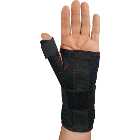 Image of Wrist Brace with Thumb Spica Splint Support