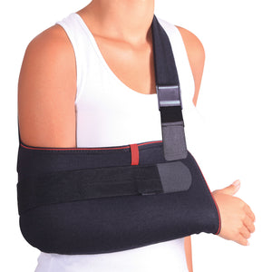 Arm Support Sling Shoulder Immobilizer Brace – Breathable and Lightweight – Fully Adjustable