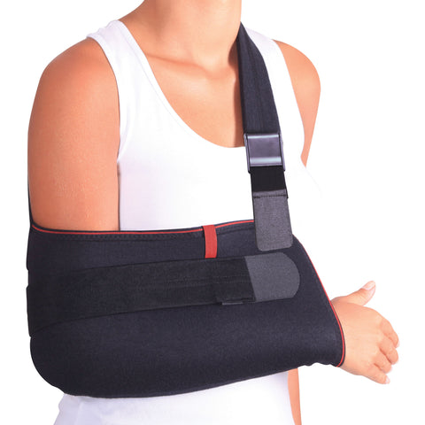 Image of Arm Support Sling Shoulder Immobilizer Brace – Breathable and Lightweight – Fully Adjustable