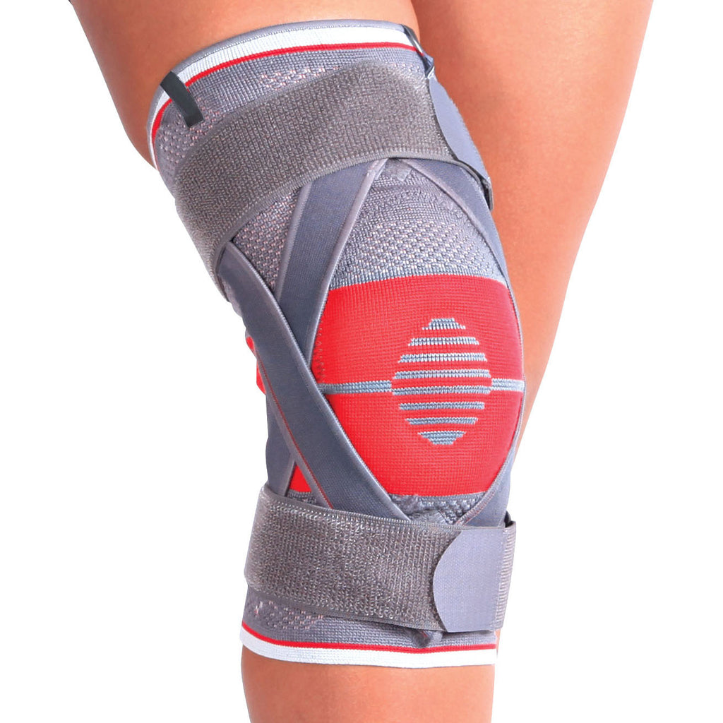 Knitted Ligaments and Patella Support with Cross Band