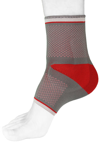 Image of Padded Ankle Support Brace Compression Sleeve