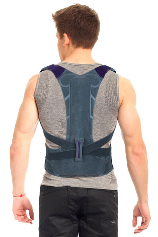 Image of High Back Support Brace Posture Corrector, Rigid Support