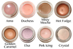 Any Wear Creme Shadow - Waterproof Eyes, Cheeks and Lips - 8 Shades