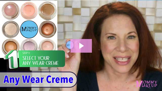 Mommy Makeup Everlatsing Eye Set - Step 1 - by Debra Rubin-Roberts