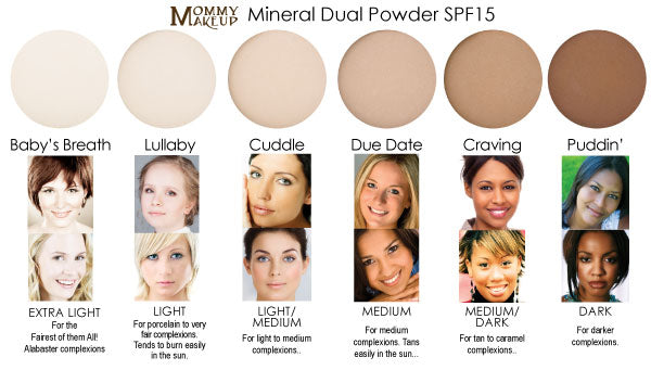 Mineral Dual Powder Foundation Pressed Mineral Powder