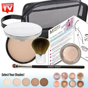 Mineral Dual Powder - mineral based 4-in-1 PRESSED Powder, Foundation, SPF 15 and Soft Focus Finish All in One