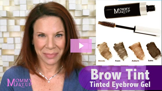 Brow Tint - Tinted Eyebrow Gel | Mommy Makeup - Video