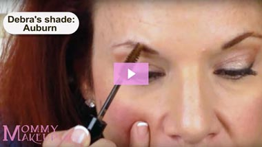 Brow Tint for Thinner Brows | Mommy Makeup - Video