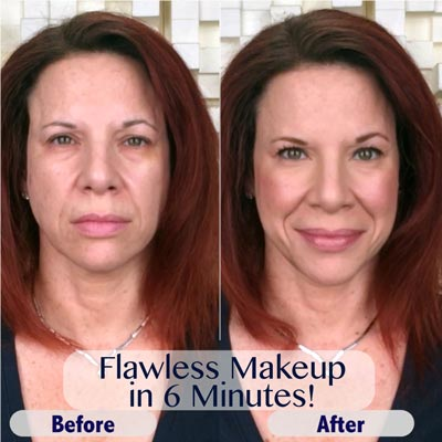 Flawless Makeup<br>in 6 Minutes!