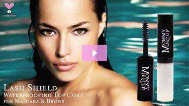 Lash Shield Waterproofing Top Coat for Mascara & Brows | Video