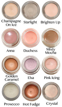 Any Wear Creme Shadow - Waterproof Eyes, Cheeks and Lips - 12 Shades