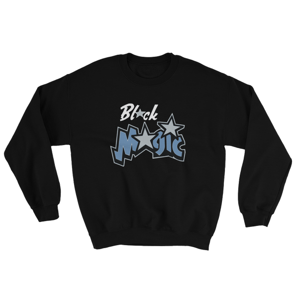 Black Magic Crew Neck Sweat Shirt
