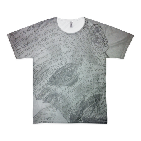 Concrete Rose All-Over Tee