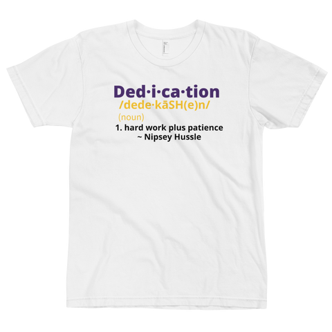 Definition of Dedication Tee (Mamba Edition) White