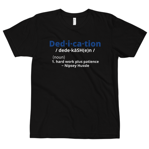Definition of Dedication Tee ( Nipsey Blue)