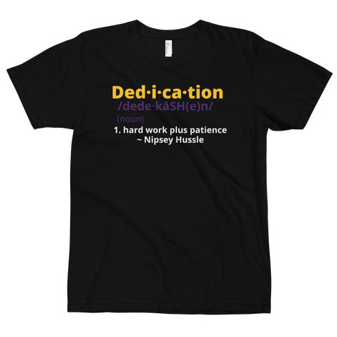 Definition of Dedication Tee (Mamba Edition)