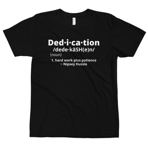 Definition of Dedication Tee