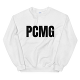 PCMG Official Crew Neck Sweat Shirt (White)