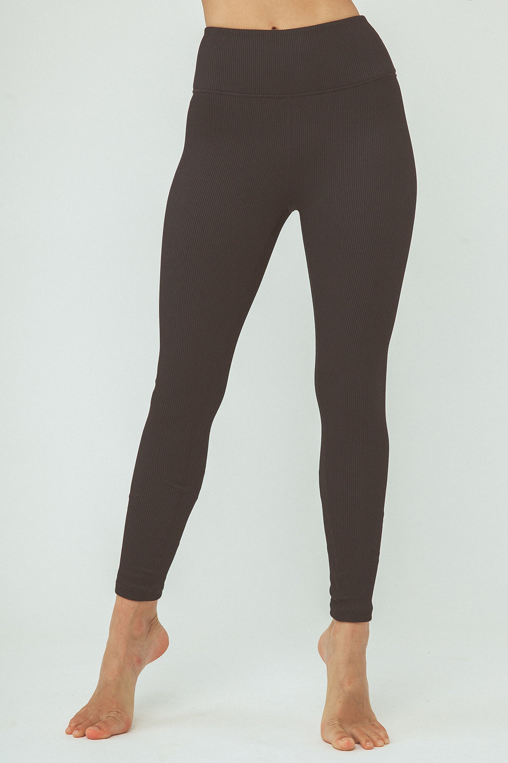 Mya Legging - Black Rib