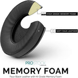 PROSTOCK - ATH M-SERIES EARPADS - FAUX LEATHER(VARIOUS COLOURS)