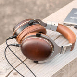 HM100 - STUDIO MONITOR HEADPHONES WITH WOOD EARCUPS