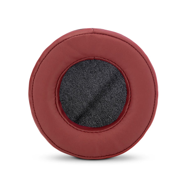 Headphone Memory Foam Earpads - Round - PU Leather (Various Colours)