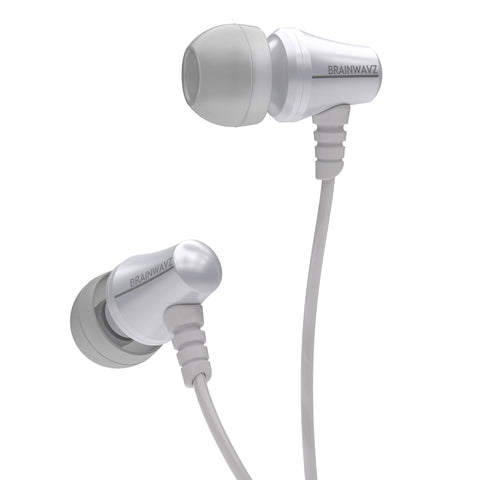 Jive Noise Isolating IEM Earphones w/ 3 Button Remote & Microphone - White