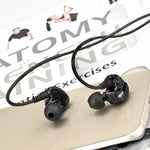 XFit XF-200 Noise Isolating Sport IEM Earphones w/ 3 Button Remote & Microphone