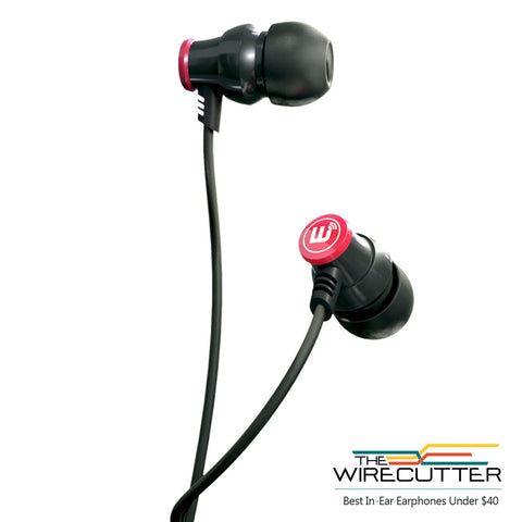 Delta IEM Noise Isolating Earphones With Microphone & Remote - Black