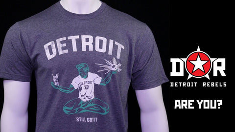 (0017) Spirit of Detroit T-shirt, Detroit T-Shirts LLC